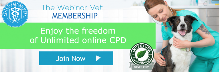 Join The Webinar Vet Logo